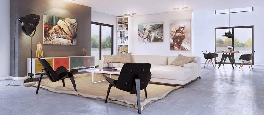 Arredare con i quadri idee e suggerimenti interior art for Suggerimenti per arredare casa