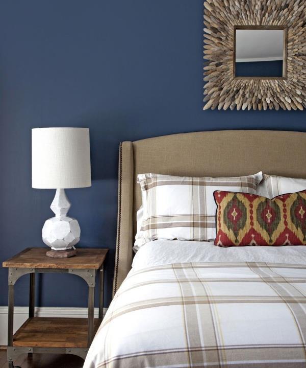 Arredare la camera da letto con il blu | Interior Art Design
