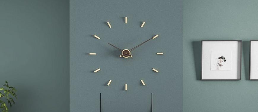 Gli orologi da parete come soluzione di design   Interior