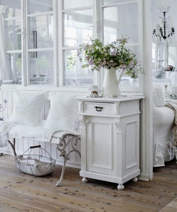 Lo stile shabby chic per chi ha l\'animo romantico | Interior Art Design
