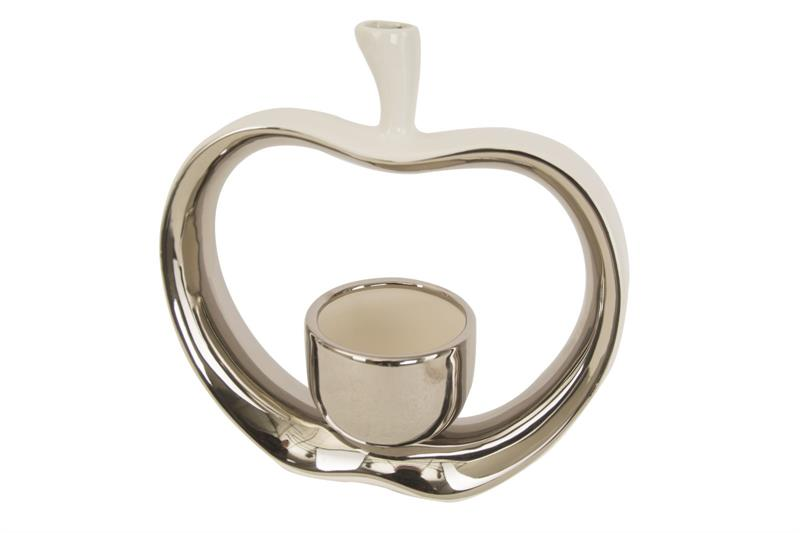 Set da 2 Porta Candele Apple 1903250000