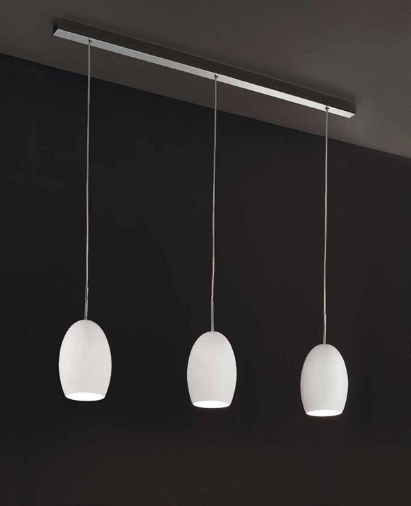 EGG SO3, lampada da soffitto a 3 luci