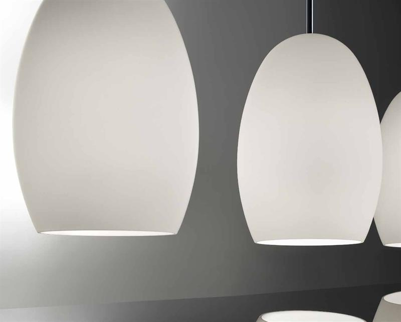 EGG SO4, lampada da soffitto a 4 luci