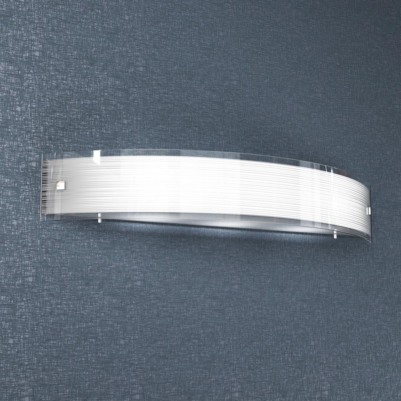 APPLIQUE A 3 LUCI LINEAR MAD 1075/A70 BIANCO